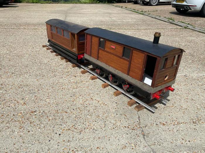 5 Inch Gauge Tram Engine (Sparky)