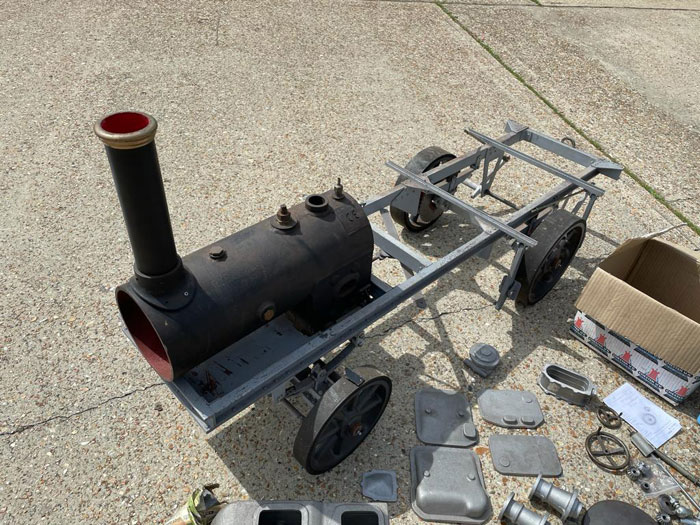 3 Inch Savage Steam Lorry Project