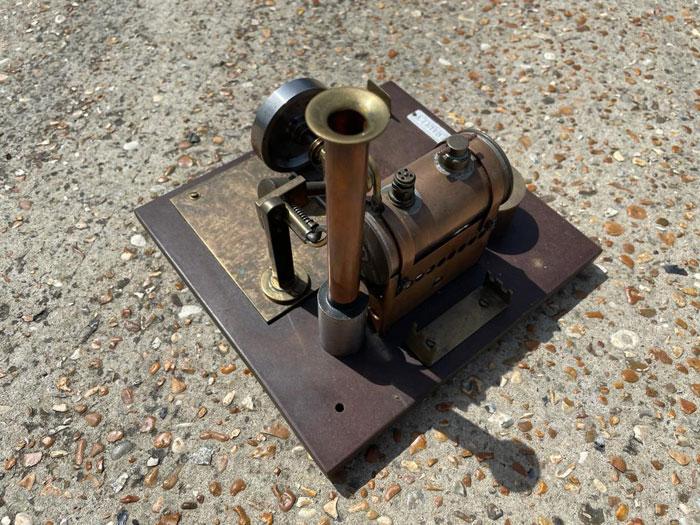 Small Vintage Steam Plant