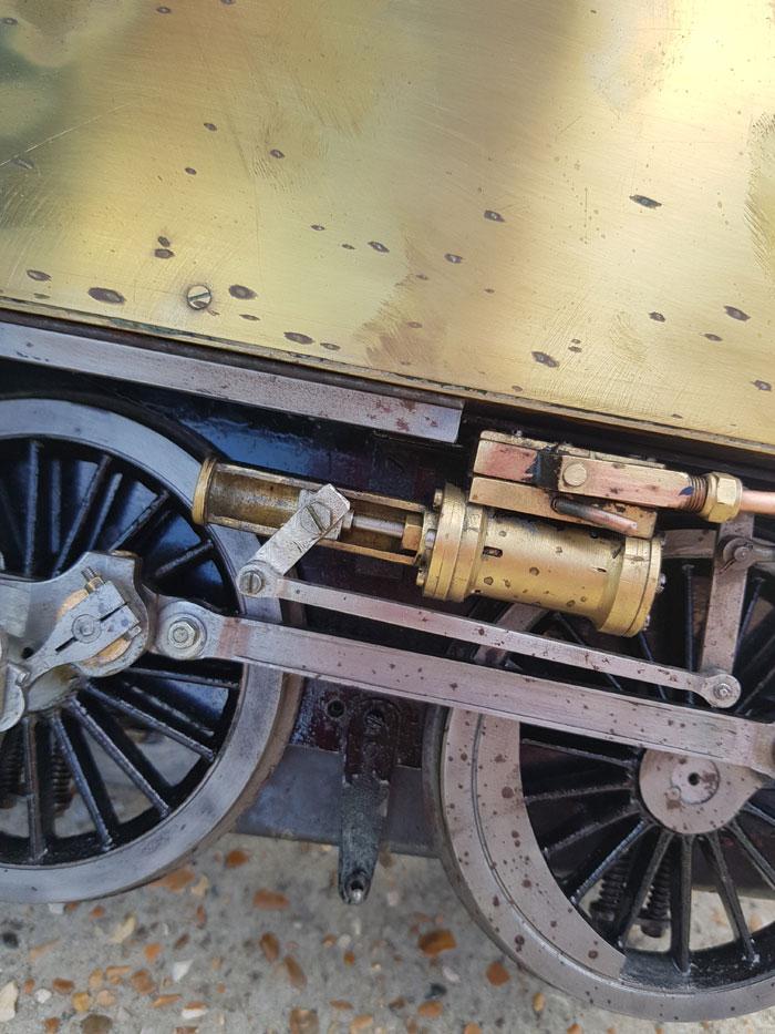 3.5 Inch Gauge Brass Project