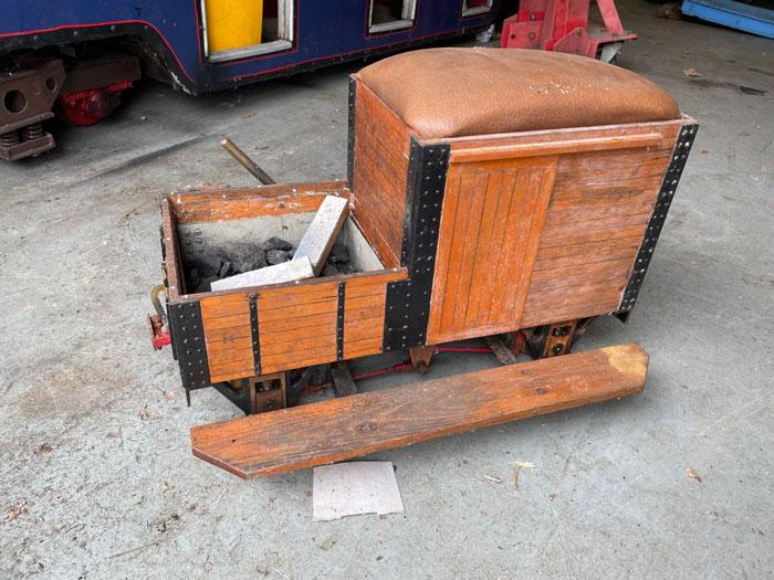 5 Inch Gauge Drivers Truck (Wood)