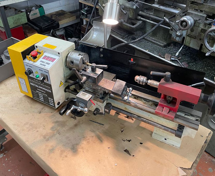 Chester Metalworker Lathe