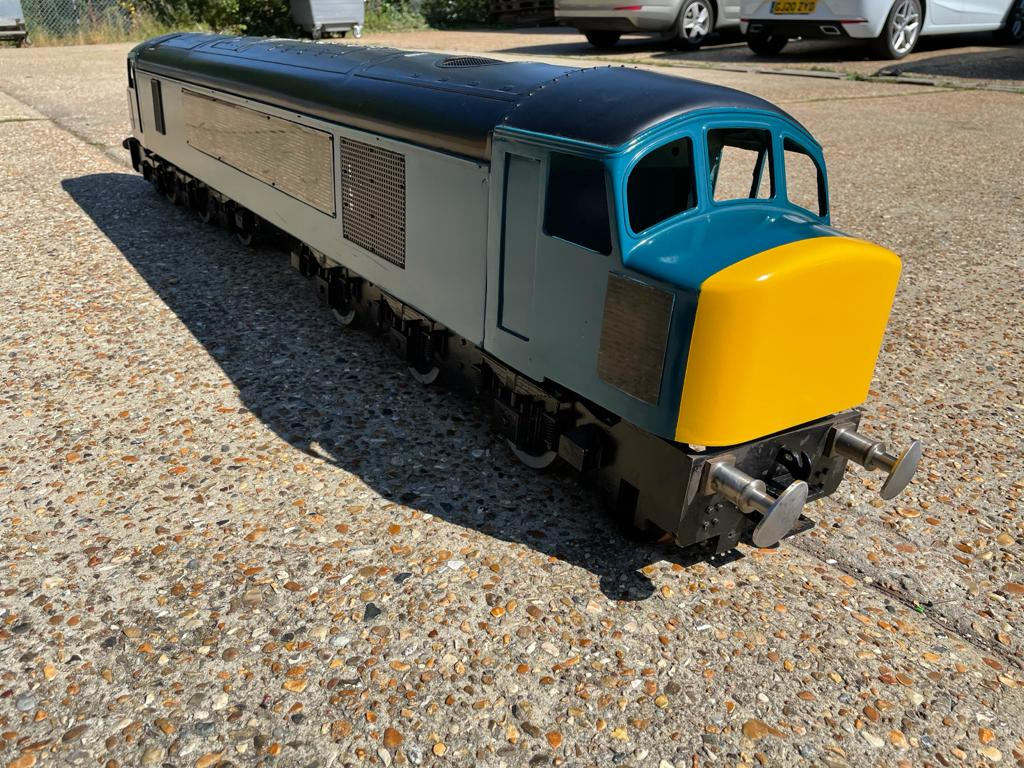 5 Inch Gauge Class 45 project loco