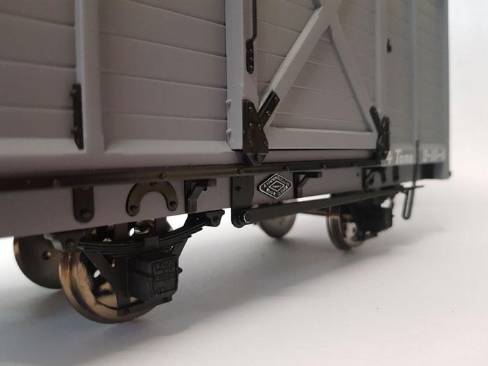Accucraft W&L Goods Van