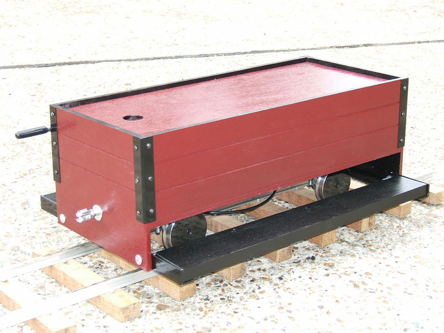 5 Inch 4 Wheel drivers truck (Wooden Chassis)