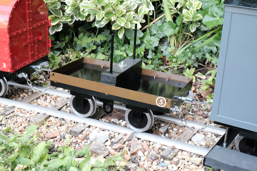 5 Inch Kent industrial bolster wagon