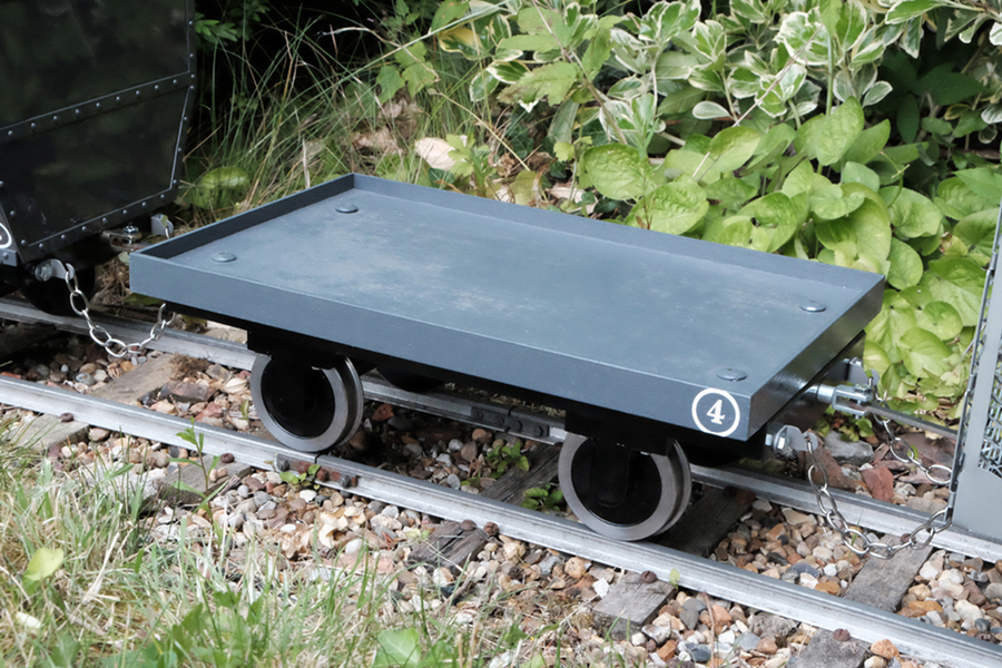 5 Inch Kent industrial Cauldron wagon