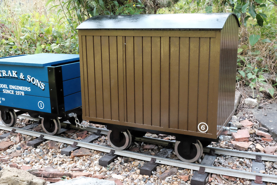 5 Inch Kent industrial open wagon