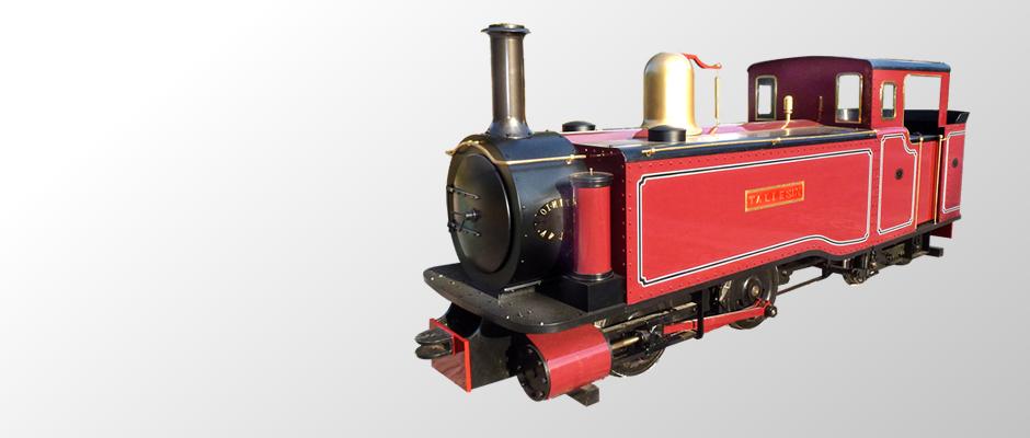 Maxitrak - Welcome to Maxitrak, for miniature locomotives